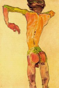 egon-schiele-self-portrait-from-the-back