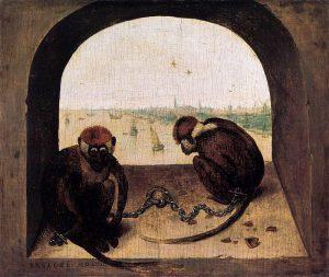 800px-pieter_bruegel_the_elder_-_two_chained_monkeys_-_wga3524-2